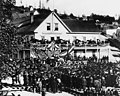 Crowd in Occidental Square in front of Occidental Hotel for the visit of President Hayes, Seattle, 1878 (CURTIS 319).jpeg