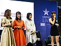 Cuisine Dimension voice actresses and the hostess standing 20190414c.jpg