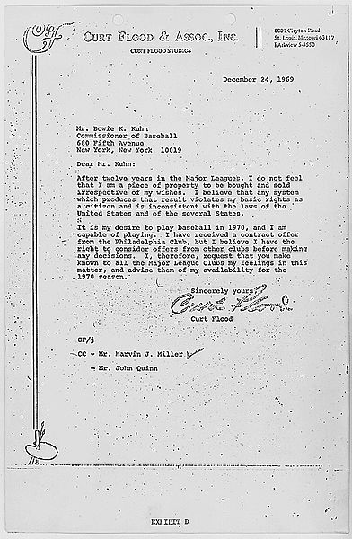 File:Curt Flood letter to Bowie Kuhn.jpg