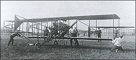 Le Curtiss No. 1, photographié en 1909.