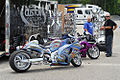 Custom Cycles Hayabusa and CBR at Black Bike Week Festival 2008.jpg
