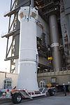 Cygnus CRS OA-6 Atlas V rocket interstage (24961456224).jpg