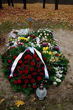 Czesław Kiszczak - General Kiszczak's grave (November 2015)