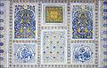 Décors de la mosquée Kok Goumbaz (Shahrisabz) (6018919158).jpg