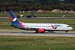 D-AZUG Boeing 737-900ER Azur Air Germany DUS 2018-09-01 (1a) (29574358767).jpg