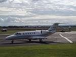 D-IPCH Cessna Citation CJ2 JK Jetkontor AG (35883911145).jpg