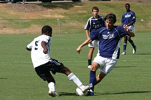 D.C. United Academy - The U-16 team playing Triangle F.C. in the 2006 Super Y League semifinals.