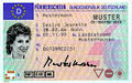 DE Licence Desiré Jeanette Mustermann Front.jpg