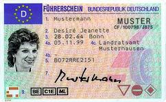 DE Licence Desiré Jeanette Mustermann