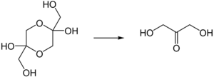 Dihydroxyacetone - Conversion of dihydroxyacetone dimer to monomer