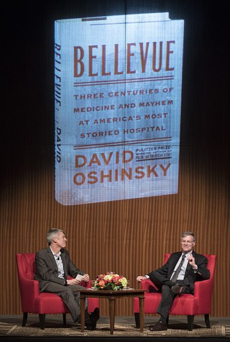 David Oshinsky - (L-R) Clay Johnston and Oshinsky at the LBJ Presidential Library in 2016