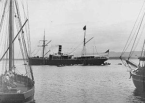 SS Sirius (1885) - Sirius in Molde c. 1890