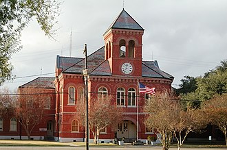 National Register of Historic Places listings in Ascension Parish, Louisiana - Image: D Ville Court 2