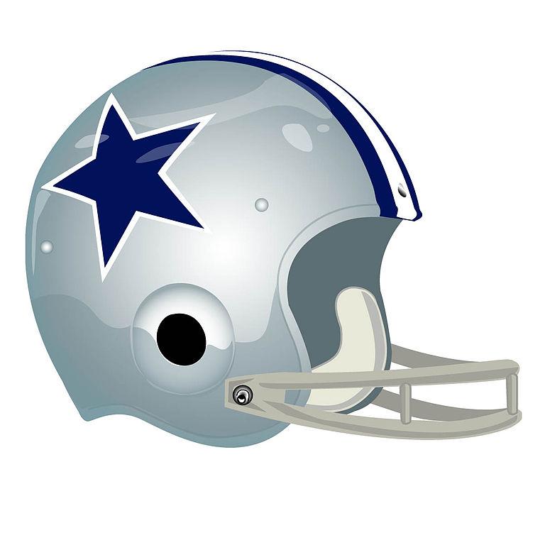 File Dallas Cowboys Helmet 1964 Jpg Wikimedia Commons