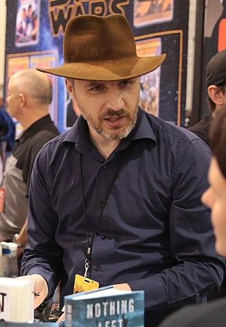 Dan Wells (author) - Wells at the 2017 Phoenix Comicon