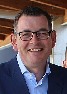 Daniel Andrews Australian politician, Premier of Victoria
