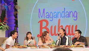 Daniel Padilla - Daniel Padilla and family on Magandang Buhay in 2016
