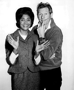 Danny Kaye - Singer Nancy Wilson appearing on his show in 1965