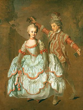 Lorens Pasch the Younger - Dancing children by Lorens Pasch the Younger