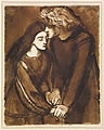 Dante Gabriel Rossetti - Two Lovers - Google Art Project.jpg