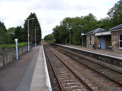 Darsham Railway Station - geograph.org.uk - 1405176