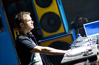 Dash Berlin - Jeffery Sutorious of Dash Berlin performing live in October 2010
