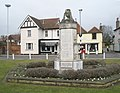 Datchet War Memorial with the Ecumenical Centre in the background - geograph.org.uk - 1174275.jpg