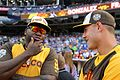 David Ortiz chats with Anthony Rizzo during the T-Mobile -HRDerby. (28291314550).jpg