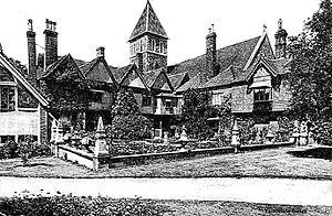 Christopher Gibbs - Davington Priory, around 1910.
