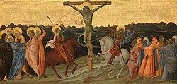 Giovanni di Paolo: De kruisiging