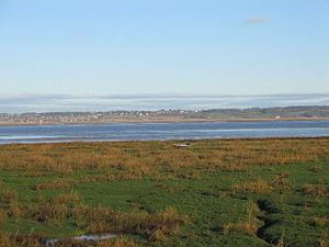 Dee Estuary - Image: Dee estuary 2