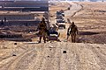 Defense.gov News Photo 120101-M-GF563-060 - U.S. Marines use metal detectors to sweep a hill during a route reconnaissance mission of Route Red which extends from Highway 1 to Shir Ghazay.jpg