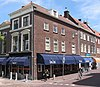 foto van Hoekpand Peperstraat met moderne zijgevel