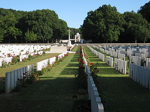 Delville Wood South African National Memorial - Delville Wood cemetery