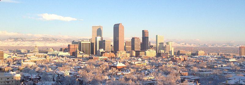 Denver Skyline in Winter.JPG