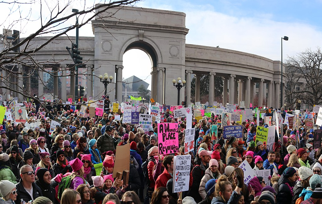 Denver Women's March 2017 Democracy in Action (31638538503)