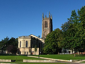 Derby Cathedral - Image: Derby Cathedral England