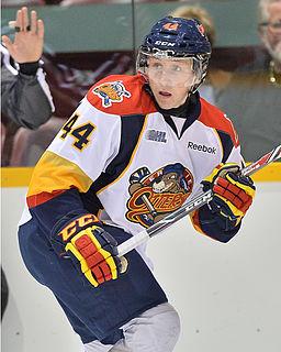 Travis Dermott Canadian ice hockey player