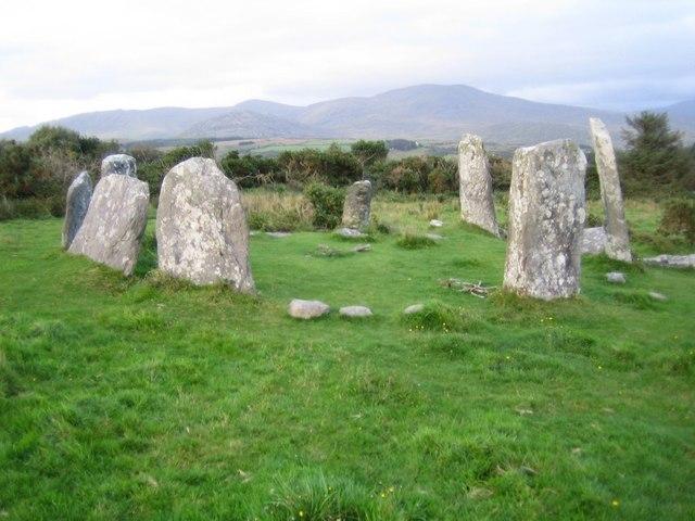 Derreenataggart Stone Circle - geograph.org.uk - 268505