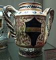 Deruta, vasetto con arme dei baglioni di perugia, 1470-1480 ca. 2.JPG