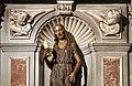 Desiderio da Settignano, maddalena, 1455, con mostra di altare del xvi secolo, 03.jpg