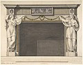 Design for a Chimney Piece in the Gallery, now Dining Room, Harewood House, Yorkshire (Elevation) MET DP800707.jpg