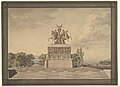 Design for a Monument of the Victory of Waterloo (recto); Portico with Corinthian Columns (verso) MET DP819697.jpg