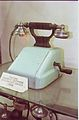 Desktop Magneto-telephone with Gravity Switch 1905 - Communication Gallery - BITM - Calcutta 2000 213.JPG