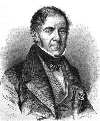 Auguste Gaspard Louis Desnoyers - Engraving of Auguste Gaspard Louis Desnoyers (1862)