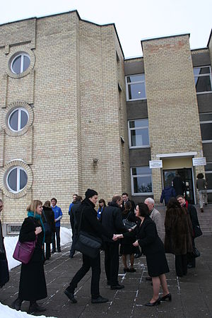 European Humanities University - Image: Det hviterussiske eksiluniversitetet i Vilnius, Litauen