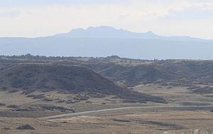 Devils Head (summit) - View of Devils Head from Castle Rock, Colorado.