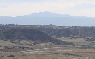 Devils Head (summit) - View of Devils Head from Castle Rock, Colorado