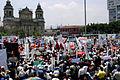 Dia del Trabajo - Plaza Central Guatemala 2008.jpg