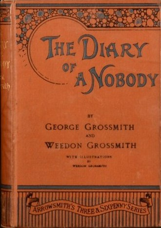The Diary of a Nobody - Cover of the first book edition